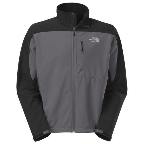 The North Face Apex Bionic Jacket for Men Small Vanadis Grey/TNF Black