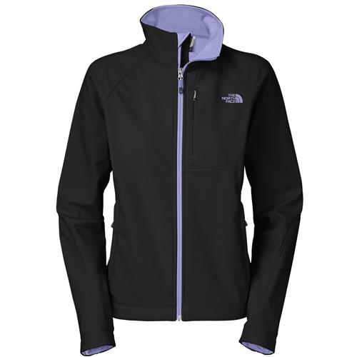 The North Face Apex Bionic Jacket for Women XX-Large TNF Black/Lavendula Purple