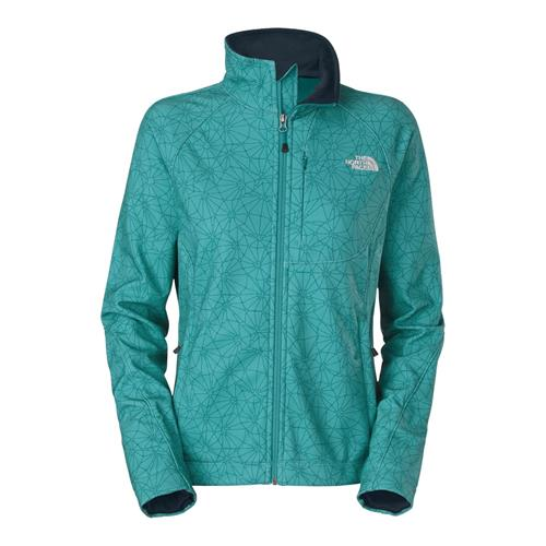 The North Face Apex Bionic Jacket for Women Small Flamenco Blue Trifecta Print