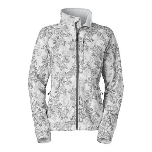 The North Face Apex Bionic Jacket for Women X-Small High Rise Grey Vine Print