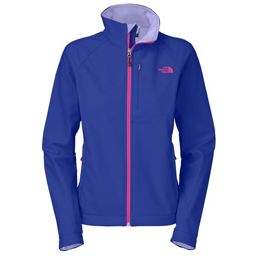 The North Face Apex Bionic Jacket for Women X-Small Frosty Blue Stencil Flower Print