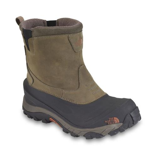 The North Face Arctic Pull-On II Boots for Men 8M Mudpack Brown/Bombay Brown
