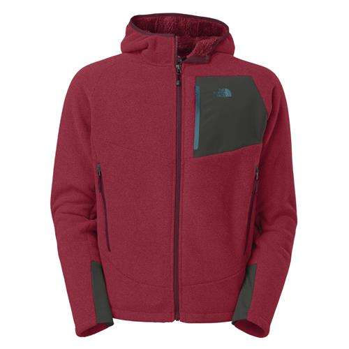 The North Face Chimborazo Hoodie for Men XX-Large Biking Red/Asphalt Grey