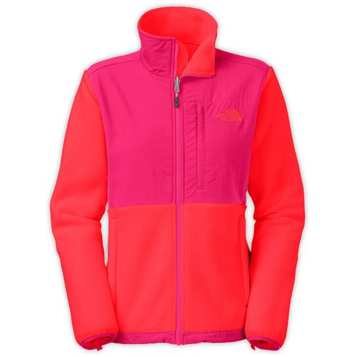 7b244310b20c The North Face Denali Jacket for Women - Discontinued Model X-Small  Recycled Rambutan Pink Cerise Pink