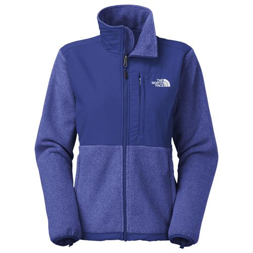 The North Face Denali Jacket for Women Medium Recycled Marker Blue Heather/Marker Blue