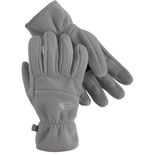 The North Face Denali Gloves for Women Small TNF White/Pache Grey