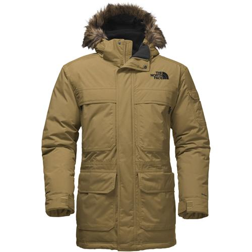 9cc9520bd The North Face McMurdo Parka III for Men Medium Monument Grey  Herringbone/TNF Black