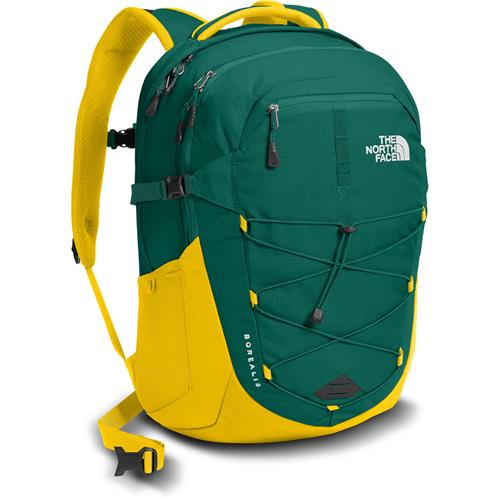 8947631be745 The North Face Borealis Daypack - last season s style Night Green Canary  Yellow
