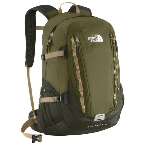 The North Face Big Shot II Daypack Burnt Olive Green/Military Green