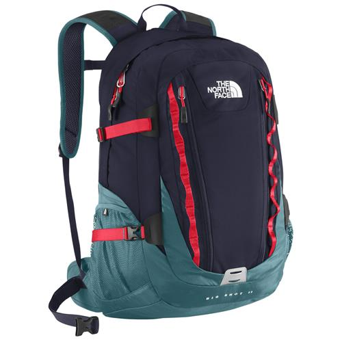 The North Face Big Shot II Daypack Cosmic Blue/Fiery Red