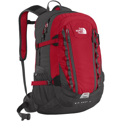 The North Face Big Shot II Daypack TNF Red/Asphalt Grey