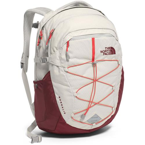 c1239f6b0f2 The North Face Borealis Daypack Women - last season's style Lunar Ice Grey/Melon  Red
