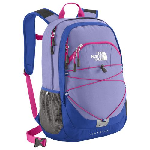 The North Face Isabella Daypack for Women Lavendula Purple/Azalea Pink