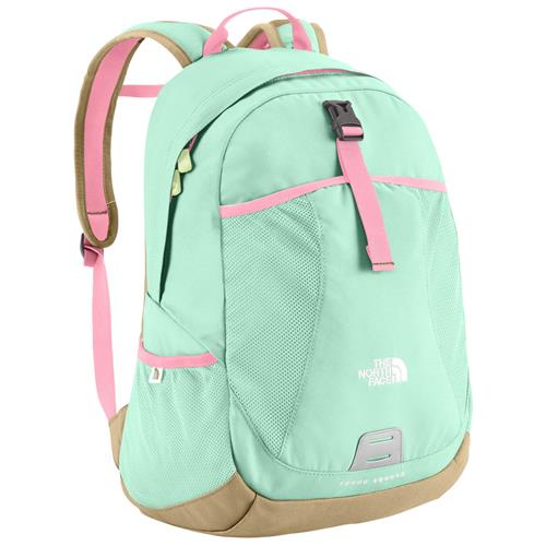 The North Face Recon Squash Youth Daypack Beach Glass Green/Sugary Pink