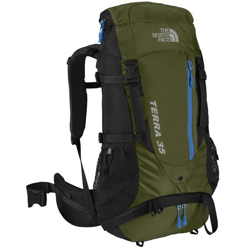 The North Face Terra 35 Backpack Thorn Green