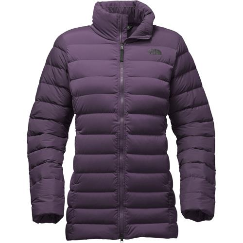 76f2d115b6 The North Face Stretch Down Parka Jacket for Women X-Small Dark Eggplant  Purple
