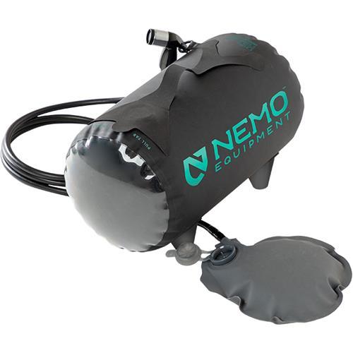 Nemo Helio Pressure Shower, Black/Dark Verglas, 2020 Model