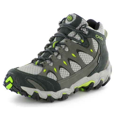 Oboz Nova Mid Hiking Shoes with BDRY for Women - Moonscape