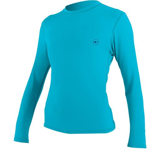 226612882a O'Neill Women's Skin Long Sleeve Rash Tee