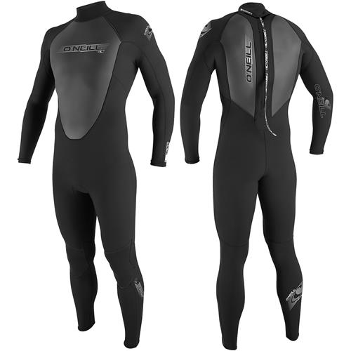 O'Neill Reactor 3/2mm Men's Full Suit Medium Black
