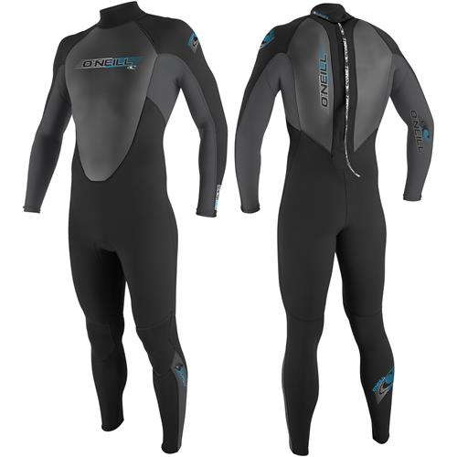 O'Neill Reactor 3/2mm Men's Full Suit Medium Black/Smoke