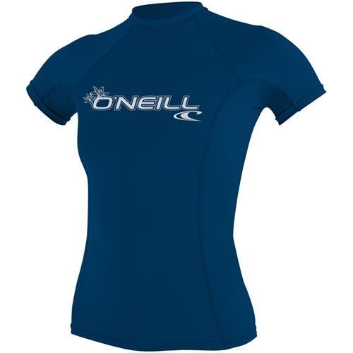 O'Neill Women's Basic Skin Short Sleeve Crew