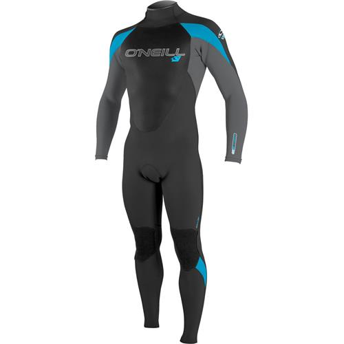 O'Neill Youth Epic 3/2 mm Full Suit, Black/Smoke/Tahiti