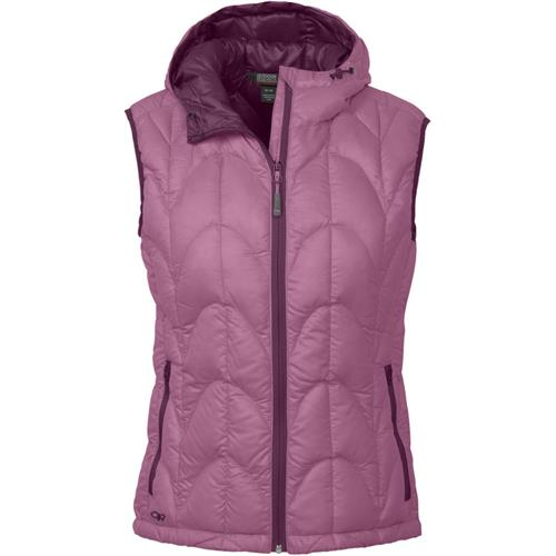 Outdoor Research Aria Down Vest for Women Medium Crocus