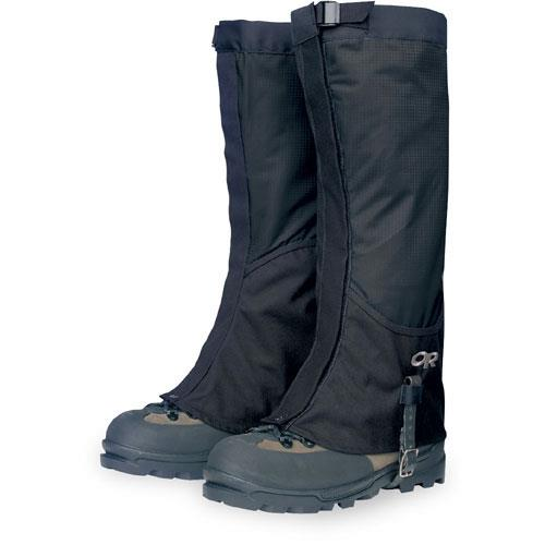 Outdoor Research Verglas Gaiters for Men - Discontinued Model Small Black