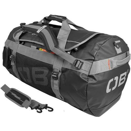 OverBoard Adventure Duffel Bag, 90 Liters (5,490 cu in) Black