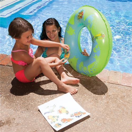 Poolmaster 81260 Design-O-Saurus Tube with Stickers Inc.