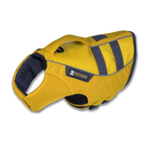 RuffWear K-9 Float Coat Life Jacket for Dogs 2X-Small Dandelion Yellow