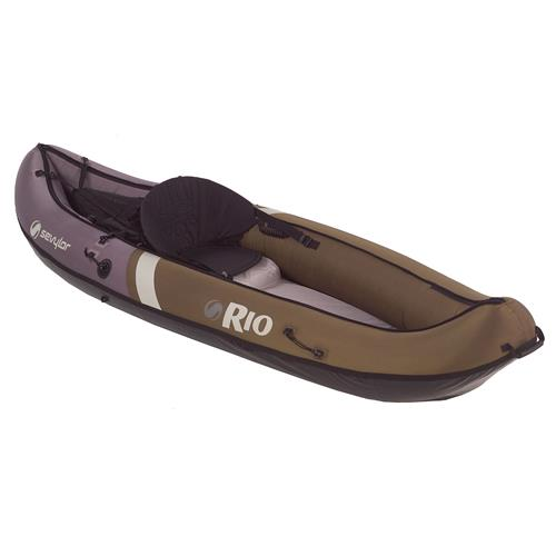 Sevylor Rio 1-Person Hunt Fish Olive/Khaki Canoe