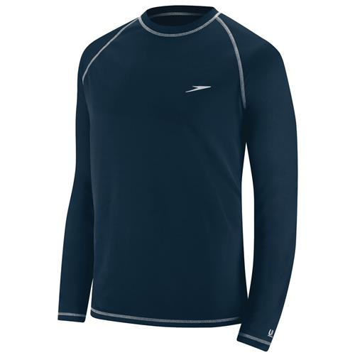 Speedo Men's Easy Swim Tee, Long Sleeve