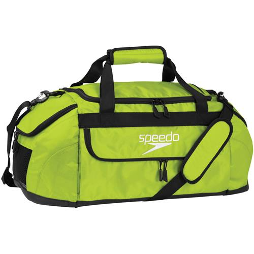Speedo Medium Pro Duffle Bag Neon Lime
