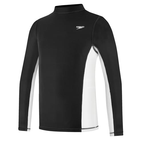Speedo Youth Long Sleeve Rash Guard