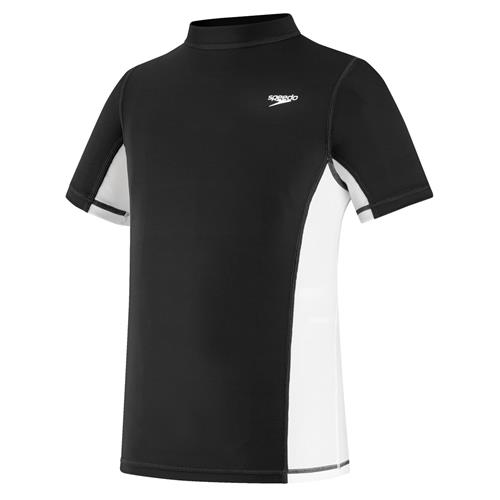 Speedo Youth Short Sleeve Rash-Guard