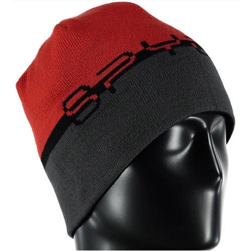b85e42fd31a Spyder Reversible Word Hat Men - Previous Season Black Red Cirrus