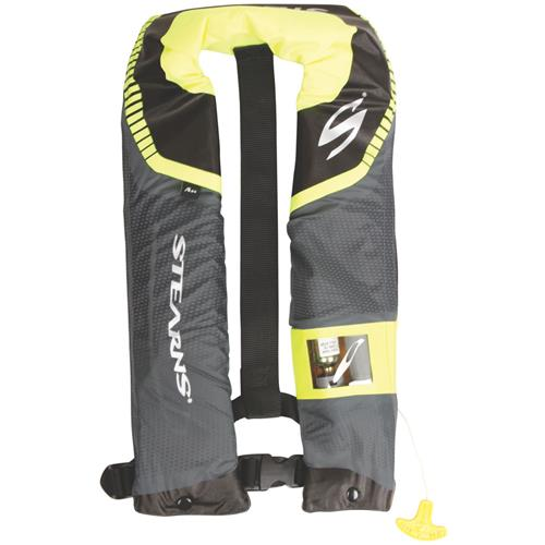 Stearns c tek 24 automatic inflatable life jacket for Best inflatable life vest for fishing