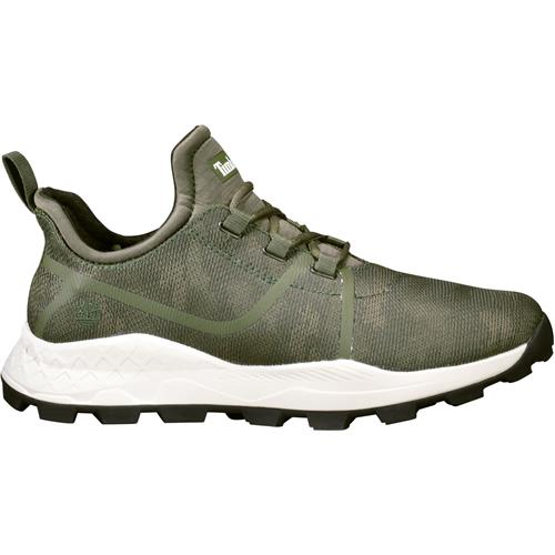 338ecae355 Timberland Brooklyn Fabric Oxford Sneakers Shoes for Men, Dark Green Mesh  Camo