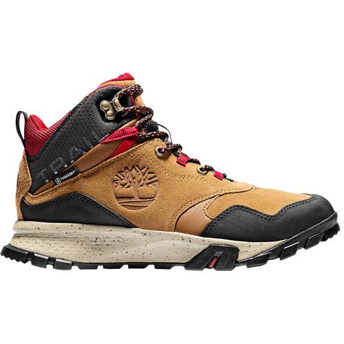 caja registradora Teoría establecida Escoba  Timberland Garrison Trail Mid Hiking Boots for Men - SunnySports