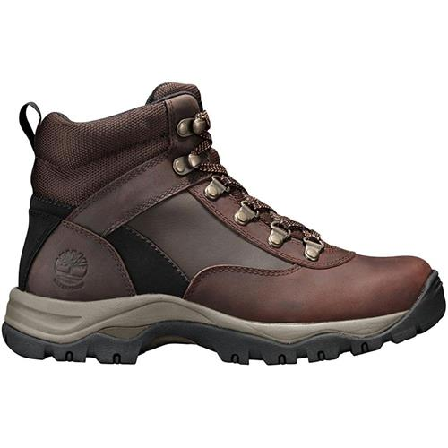 13f89f9434d4 Timberland Keele Ridge Waterproof Leather Mid Boot Women 8.5M Medium Brown  Connection Full Grain