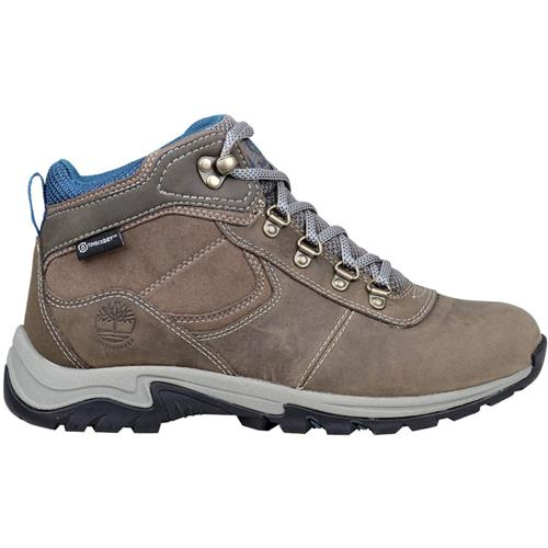 c81edf33c9c Timberland Mt. Maddsen Mid Leather Waterproof Boots for Women, Pewter