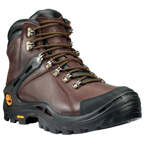 Timberland Washington Summit Series Mid Leather Waterproof Hiking Shoes for Men 8M Dark Brown