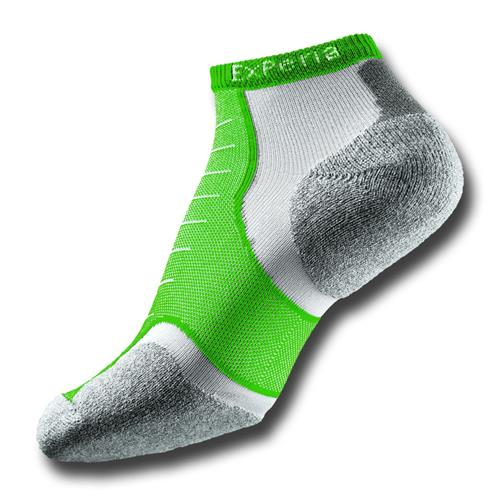 Thorlos Experia Coolmax / Micro-Mini Socks X-Small Grass Green