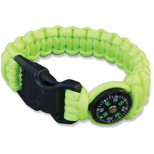 Ultimate Survival Para 550 Compass Bracelet