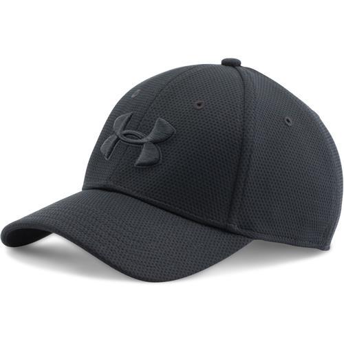 Under Armour UA Blitzing II Stretch Fit Cap for Men Large X-Large  Black Black Black 1c097a21af0