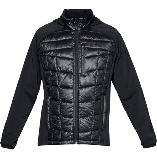 4447b4bf7 Under Armour Encompass Hybrid Jacket for Men, Black/Black/Charcoal