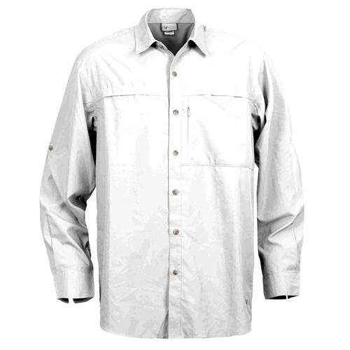 White Sierra Kalgoorlie Long Sleeve Shirt for Men