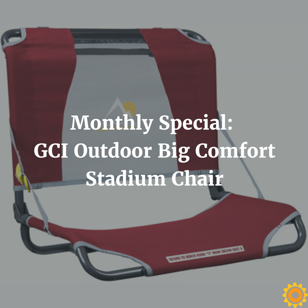 Outstanding Monthly Special Gci Outdoor Big Comfort Stadium Chair Squirreltailoven Fun Painted Chair Ideas Images Squirreltailovenorg